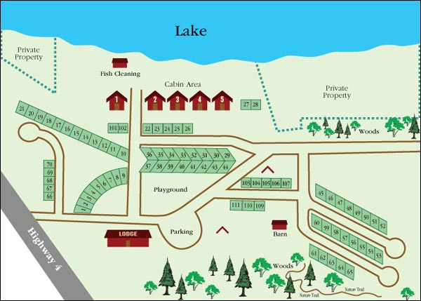 Detroit Lakes Area Campground  Elk Horn Resort